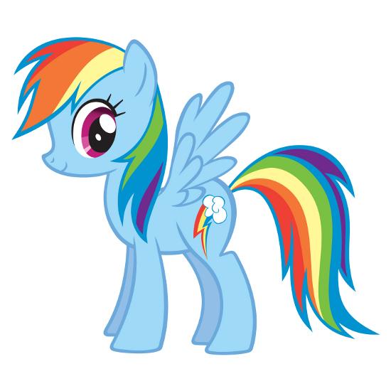 My little pony friendship is magic babies rainbow dash