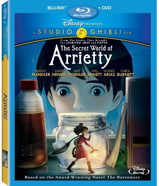 The Secret World of Arrietty Blu-Ray