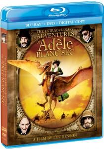 The Extraordinary Adventures of Adele Blanc-Sec Blu-Ray