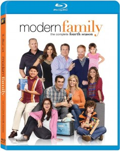 Modern Family Season 4 Blu-Ray