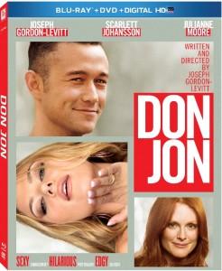 Don Jon Blu Ray cover