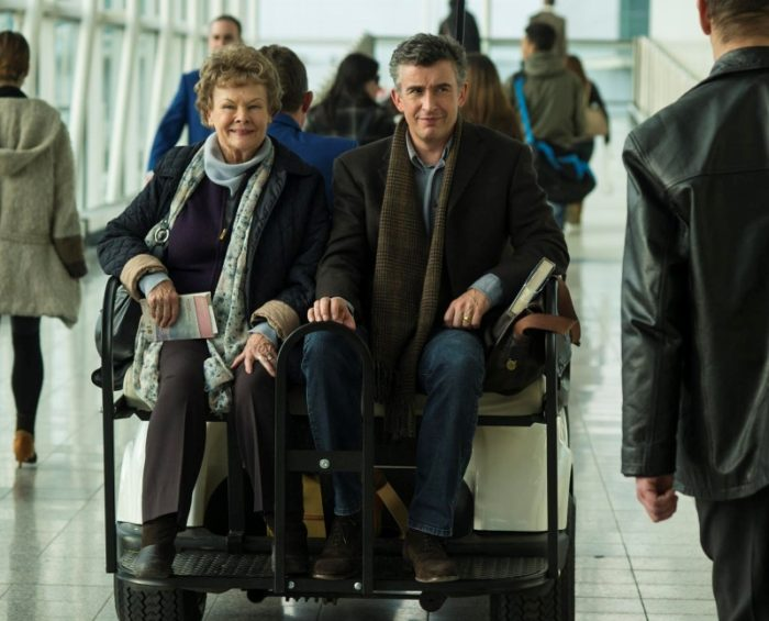 Philomena movie - Judi Dench and Steve Coogan