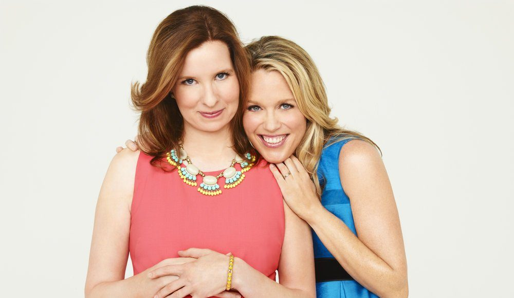 PLAYING HOUSE -- Season:1 -- Pictured: (l-r) Lennon Parham as Maggie, Jessica St. Clair as Emma