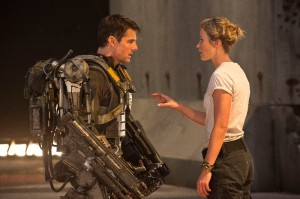 Edge of Tomorrow movie Tom Cruise and Emily Blunt