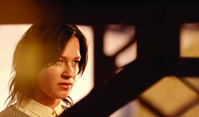 THE BRIDGE -- Pictured: Franka Potente as Eleanor Nacht