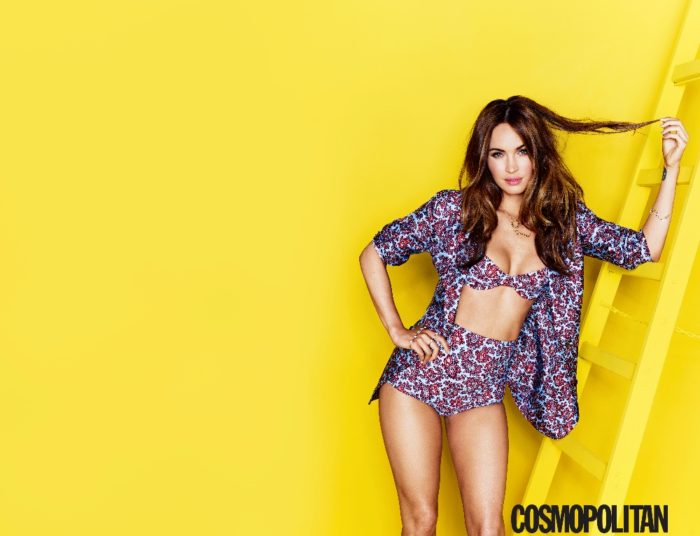 Megan Fox Cosmo Cover August 14