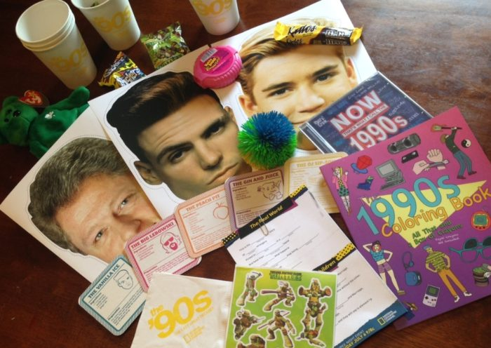 Nat Geo Channel The 90s The Last Great Decade Prize Pack