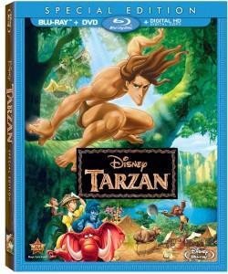 Disney BluRay Releases Tarzan Cover