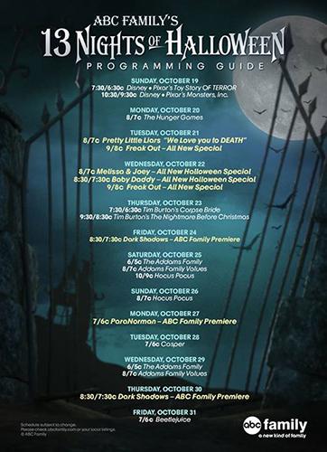 ABC Family 13 Nights of Halloween