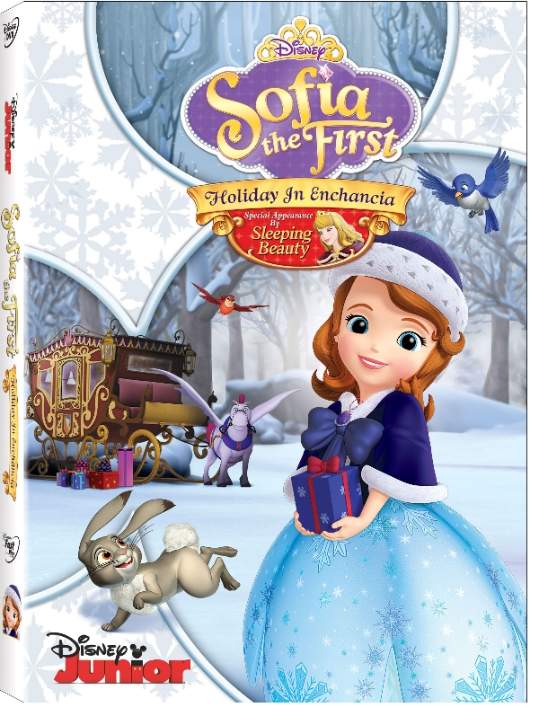 Sofia the First Holiday in Enchancia DVD release