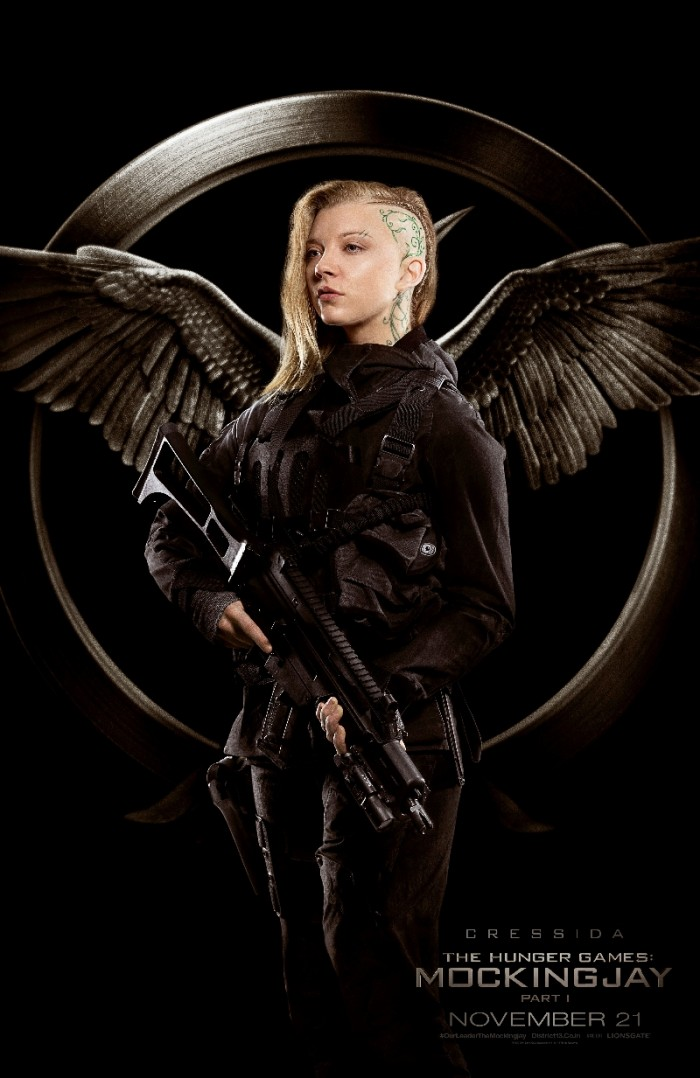 The Hunger Games Mockingjay Part One Rebel Warrior Posters