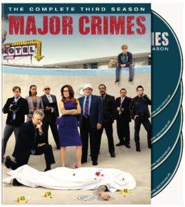 Major Crimes Season Three DVD Box