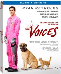 The Voices Blu-Ray cover