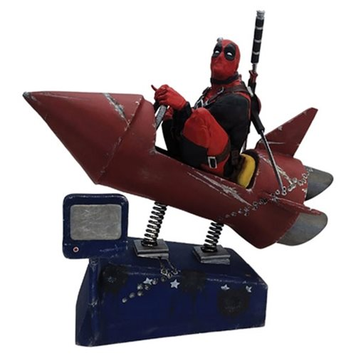 Deadpool Rocket Ride