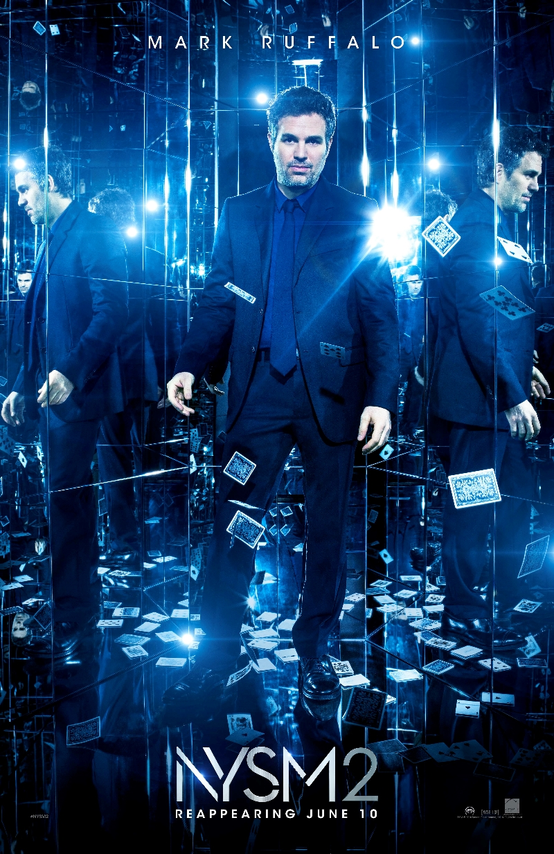 Now You See Me 2 Trailer Goes Meta Showing Smoke And ... Now You See Me Character Posters