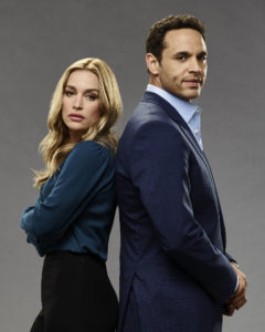 "NOTORIOUS - ABC's ""Notorious"" stars Piper Perabo as Julia and Daniel Sunjata as Jake."