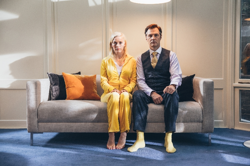 Laura Birn and David Morrissey in THE ONES BELOW, a Magnolia Pictures release.