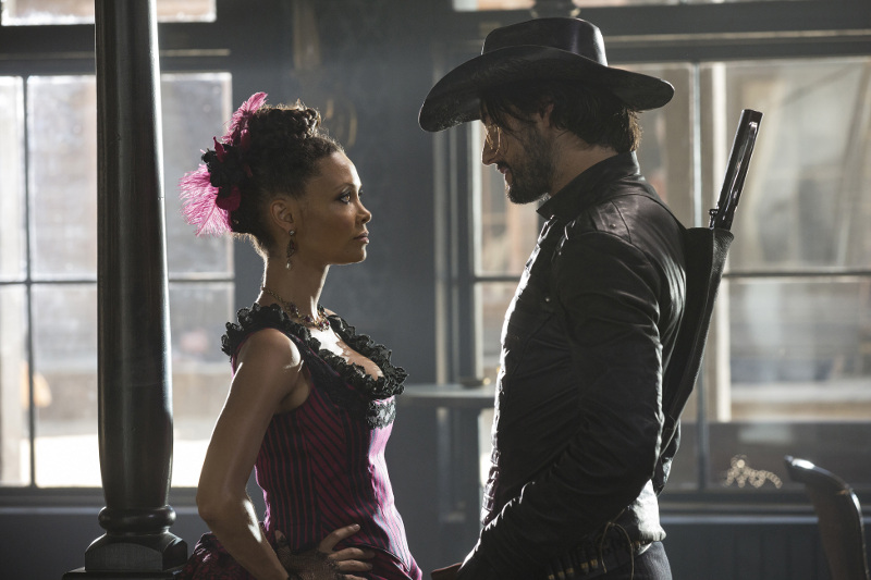 Westworld Review - Thandie Newton, Rodrigo Santoro.