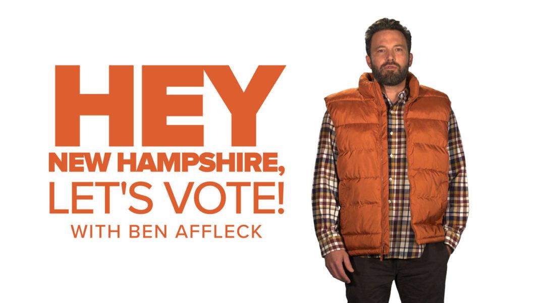 Ben Affleck Funny or Die Vote