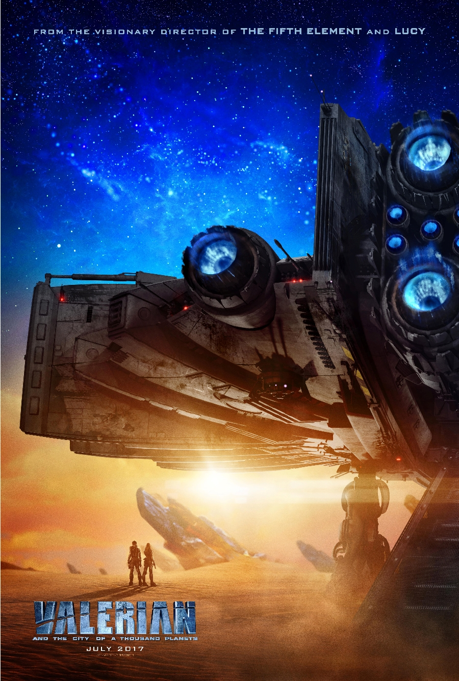 Valerian and the City of a Thousand Planets NYCC poster