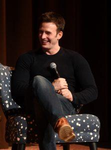 """Actor Chris Evans speaks onstage at """"Wind River"""" special screening at SCADShow on November 29, 2017 in Atlanta, Georgia"""