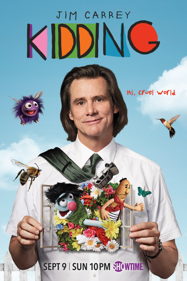 Jim Carrey as Jeff Pickles in KIDDING