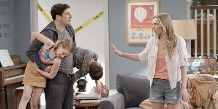 Outmatched FOX TV - Jason Biggs, Maggie Lawson