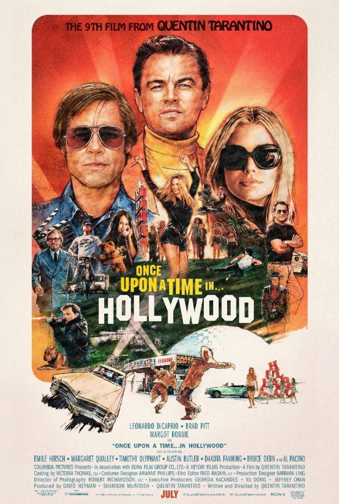 Once Upon a Time ... in Hollywood montage poster