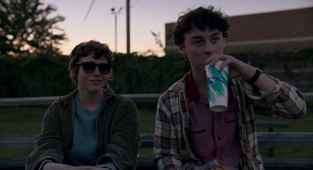 I Am Not Okay with This series - Sophia Lillis and Wyatt Oleff