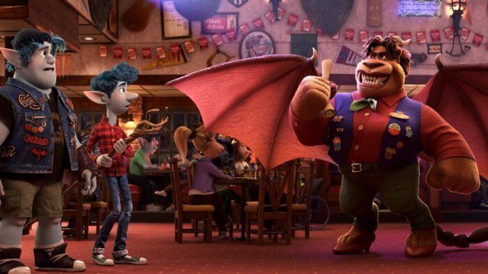 Disney's Onward - Barley and Ian meet The Manticore